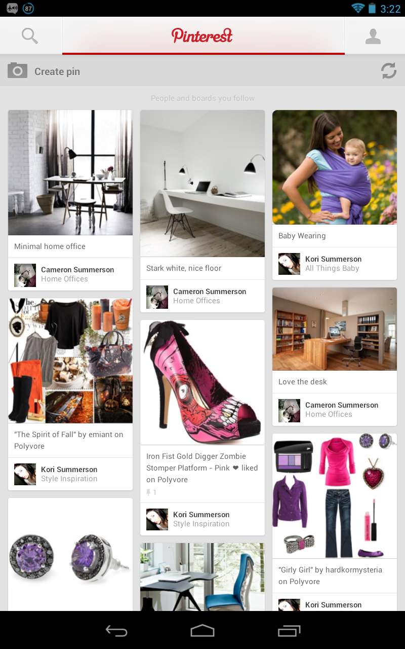 Review pinterest for android a perfectly designed for Pinterest download