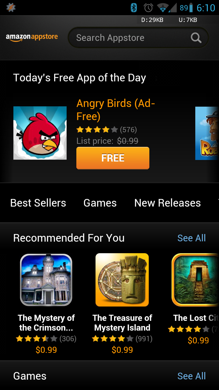 Amazon Appstore Updates To Version 4 0 With A New UI