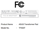 fcc-tf500t