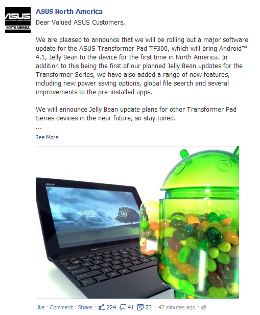 download facebook for android 4.1.1