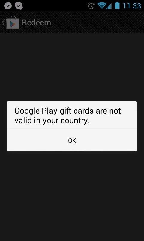 Google Play Redeem Code Generator