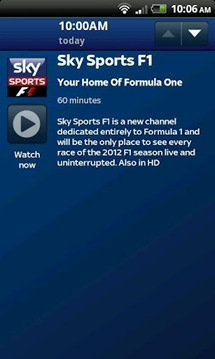 sky sports tv android