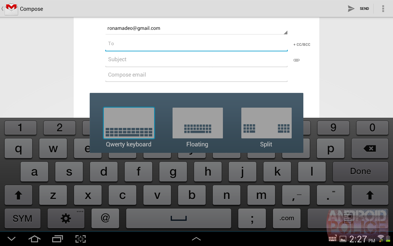 how to change samsung keyboard background