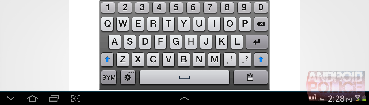 how to change samsung keyboard to normal