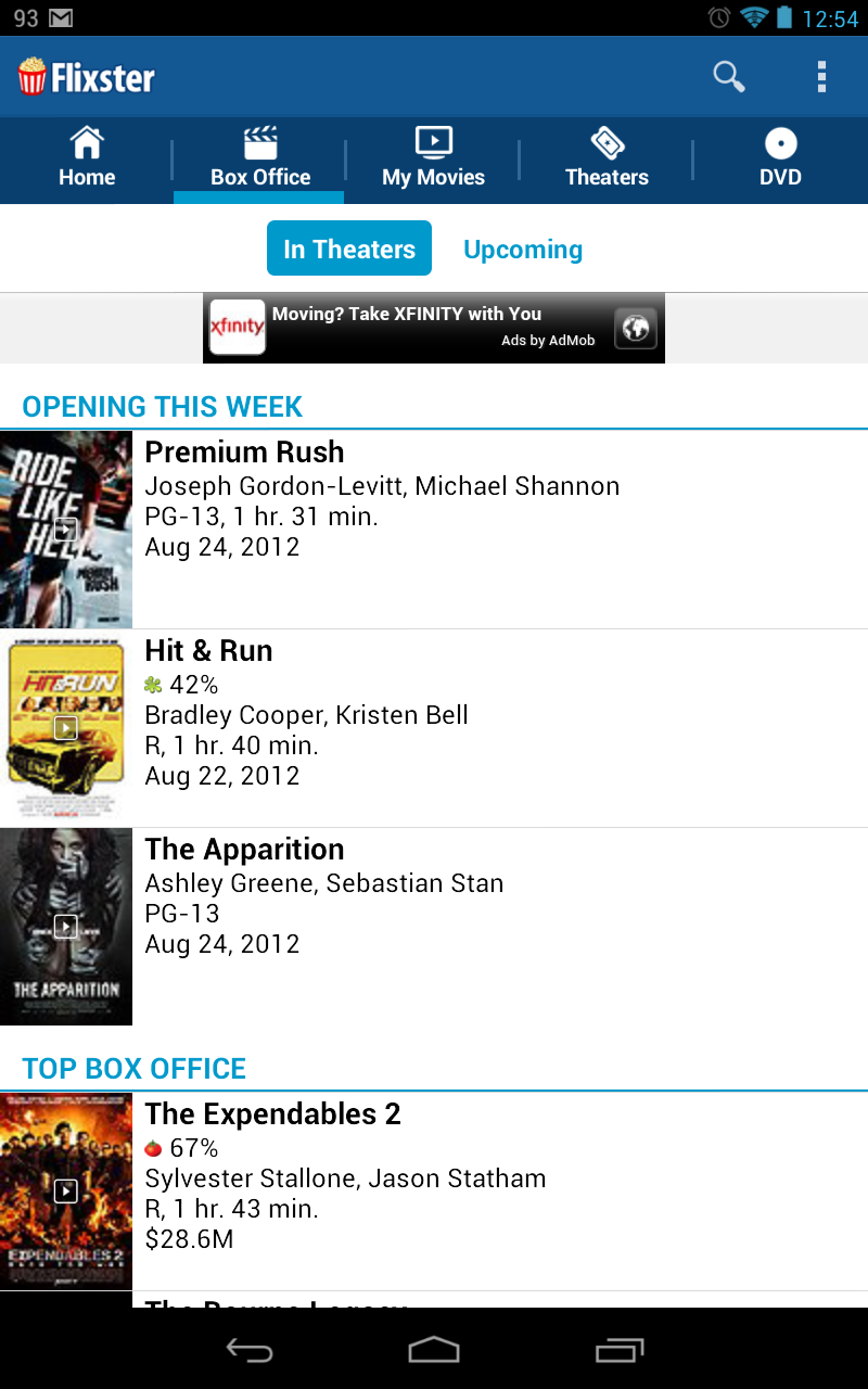 how to add movies to flixster app