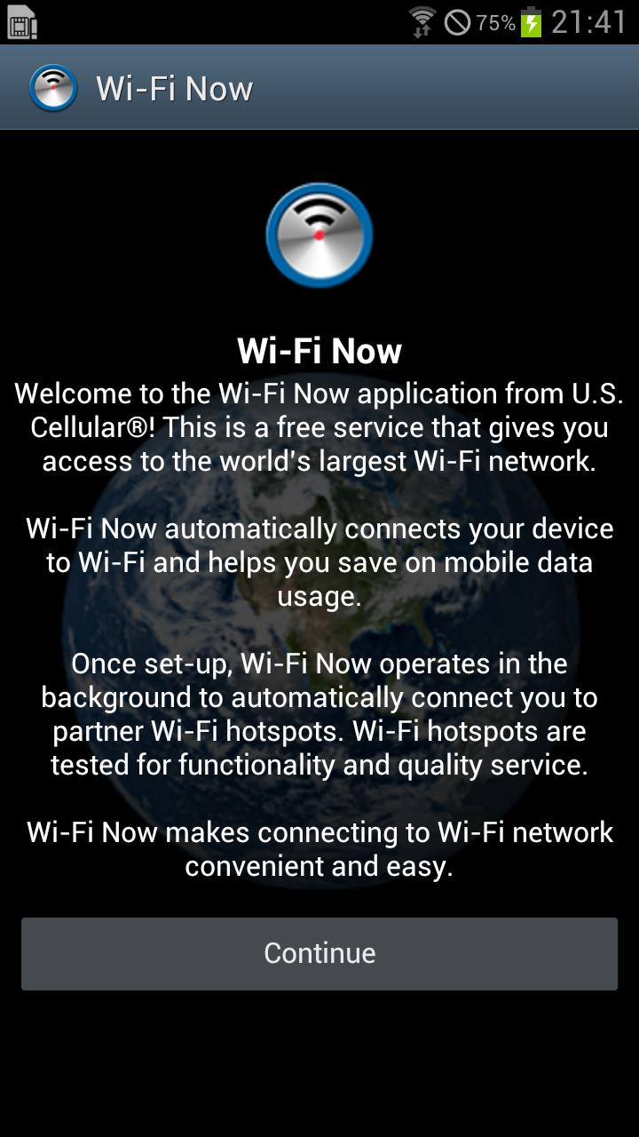 US Cellular Releases 'Wi-Fi Now' App, Automatically Connects