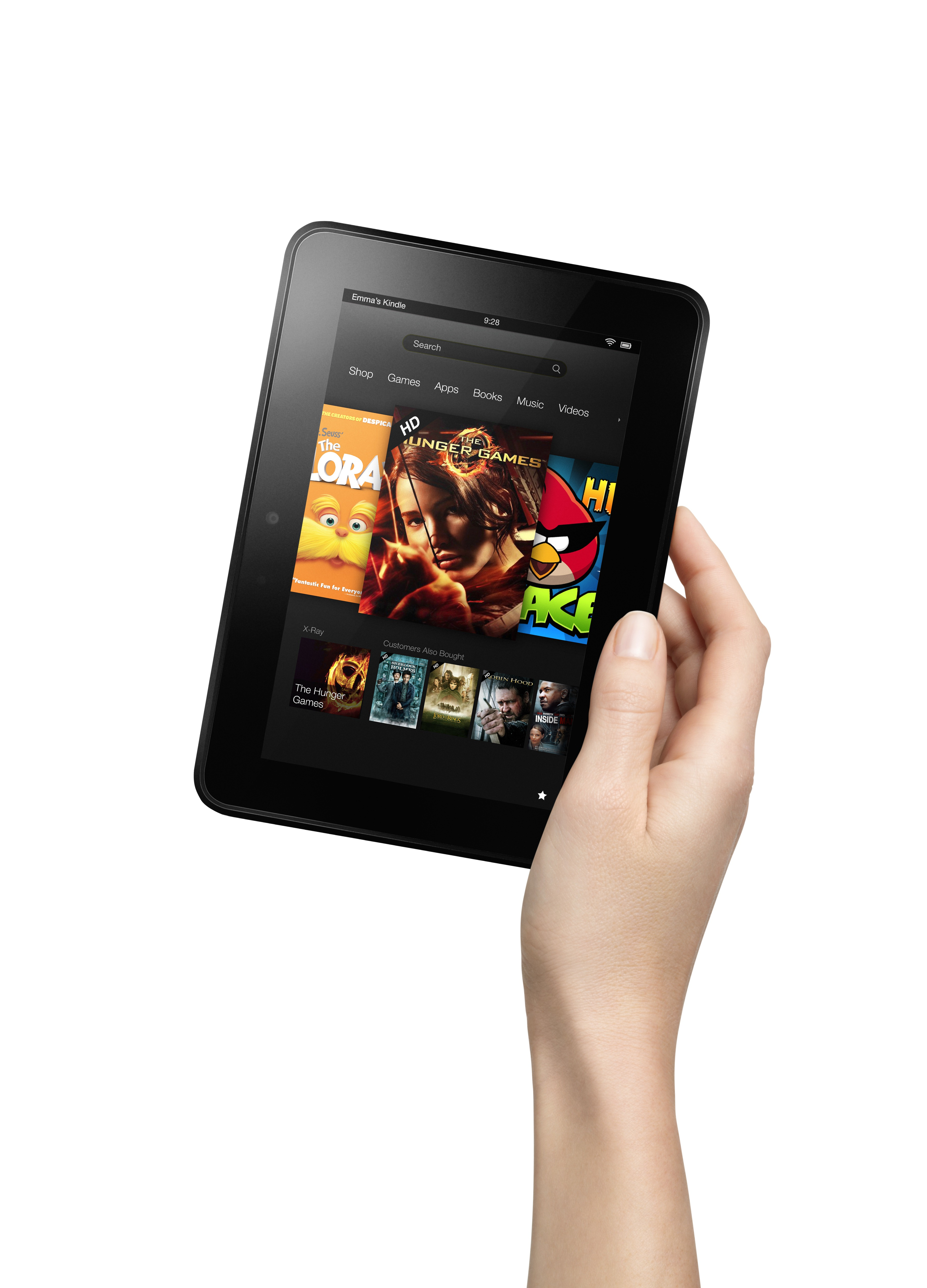 """Kindle Fire HD Tablets Officially Announced: 7"""" Or 8.9"""" HD ..."""