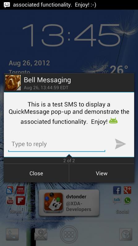 quickmessage
