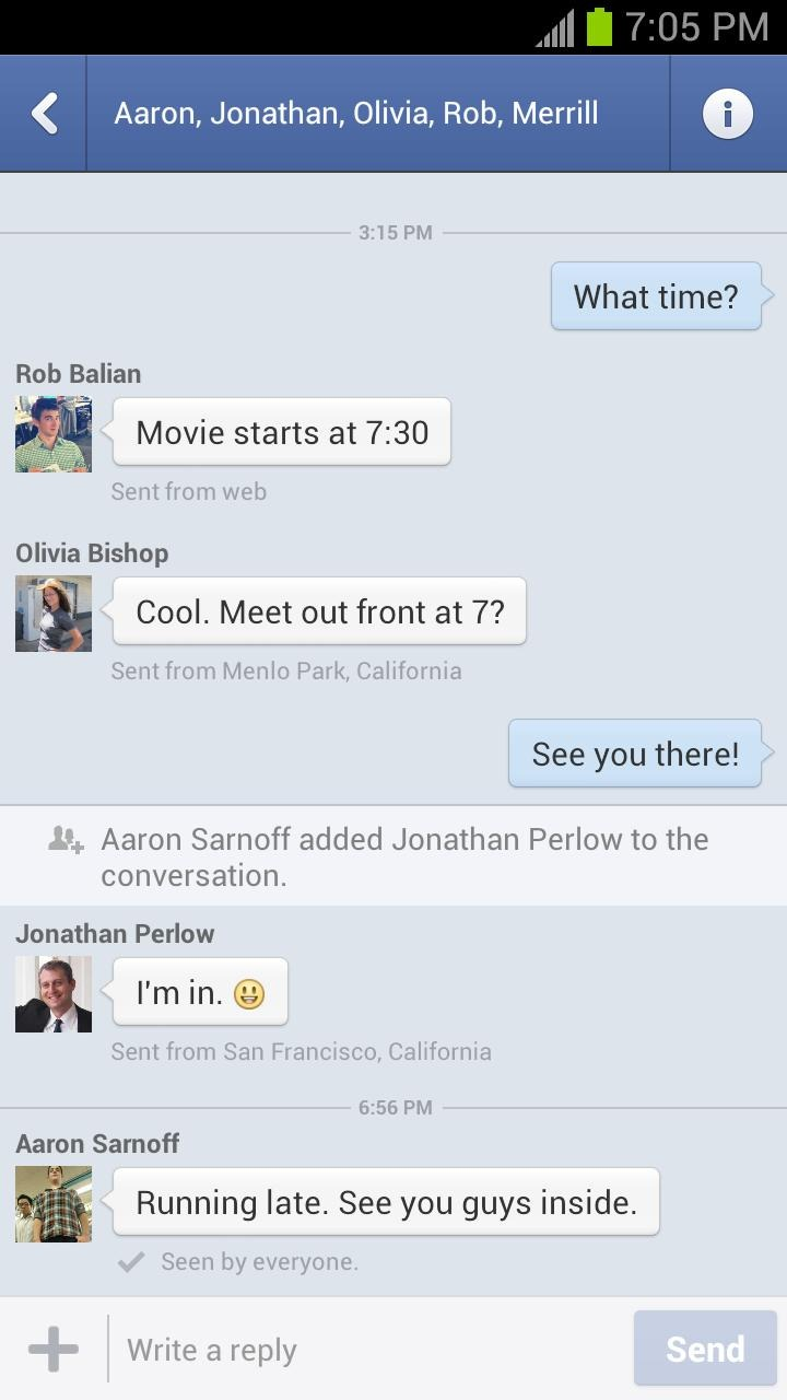 Facebook Brings Messaging Improvements To Messenger And Main
