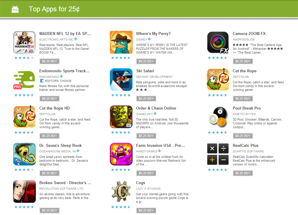 best games on play store