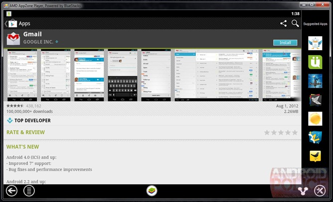 AMD Re-Launches BlueStacks As The AMD AppZone, Complete With