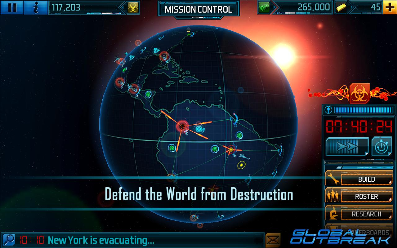 New Game Global Outbreak Uses Geolocation To Bring The