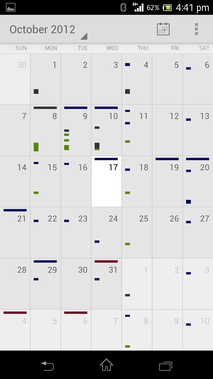 Create New Google Calendar Android