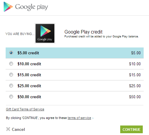 Gift Card Numbers For Google Play Play Store Gift Card