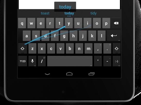 gesture-typing