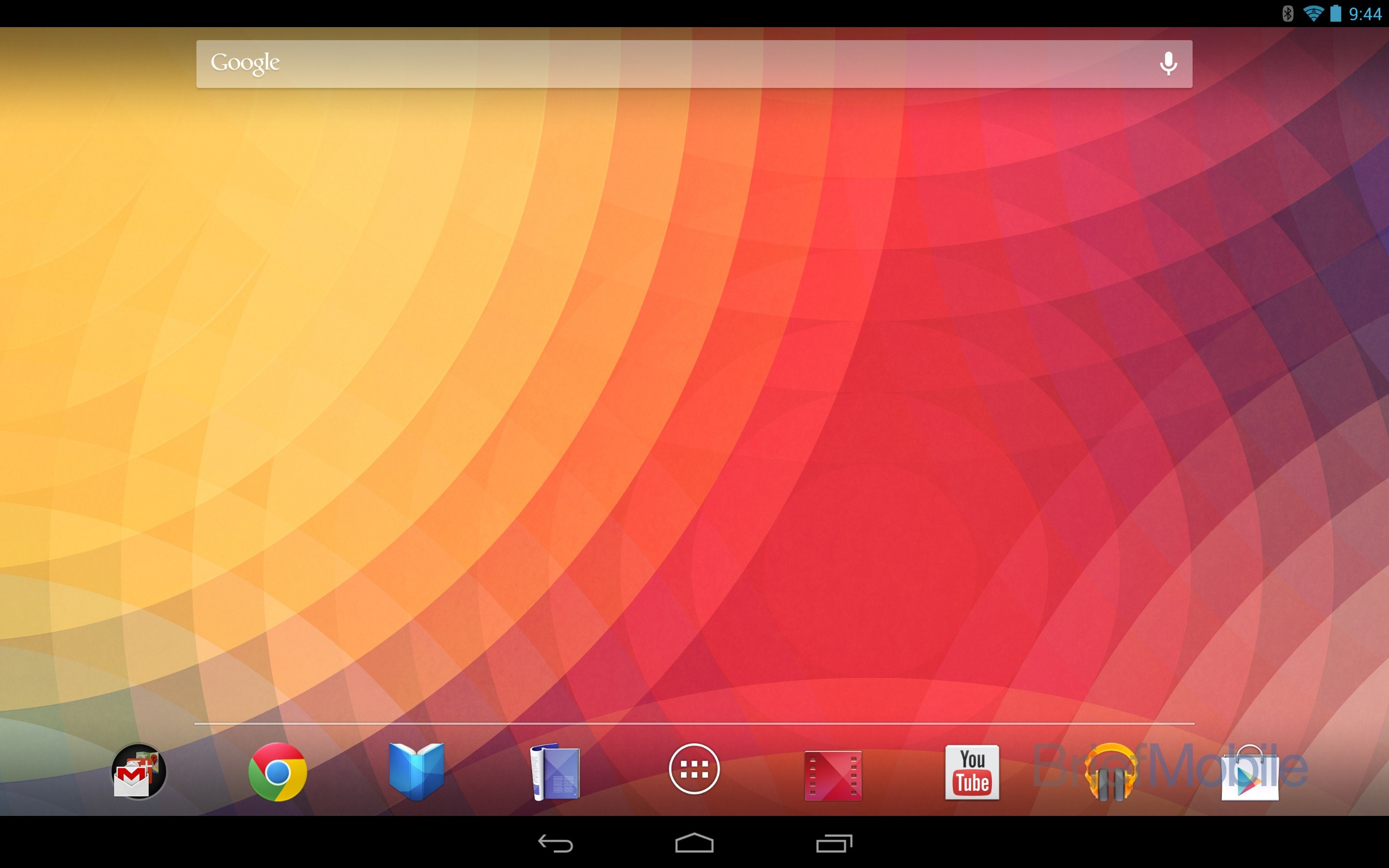 editorial: the android 4.2 tablet ui looks just like a giant