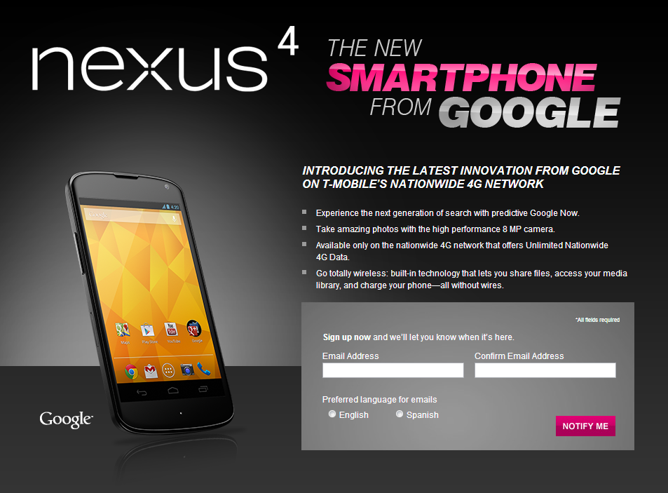 ... and ASUS-built 3G Nexus 7 as a