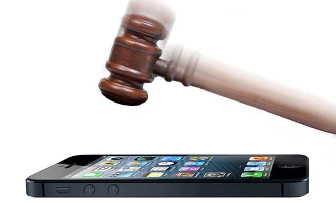 iphone 5 gavel