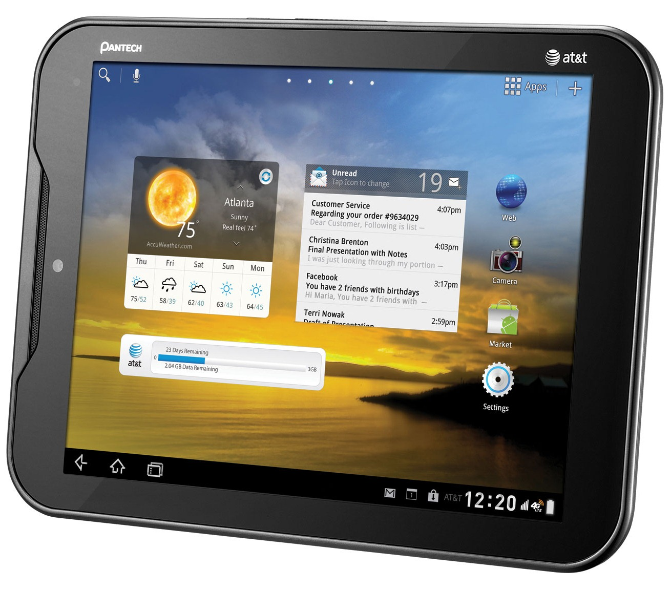 At Amp T Pantech Element Android 4 0 Update Now Live