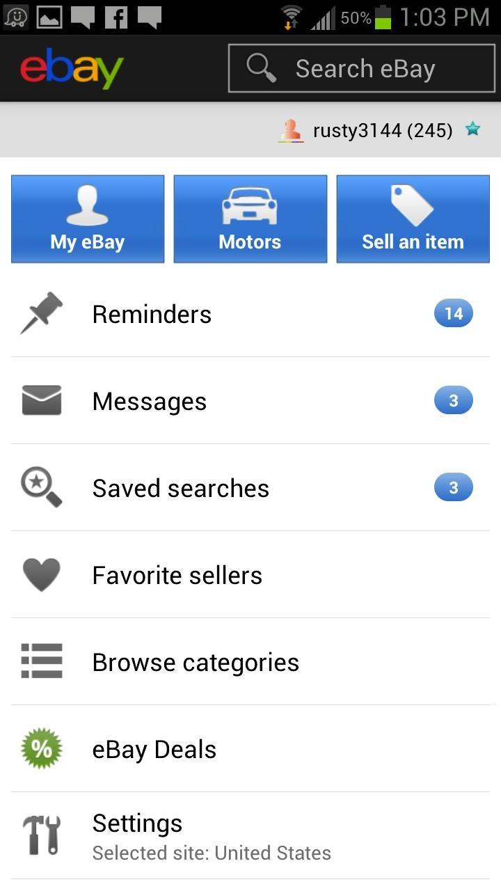 Official Ebay App Gets Updated To Version 2 1 With Better Searching And Selling