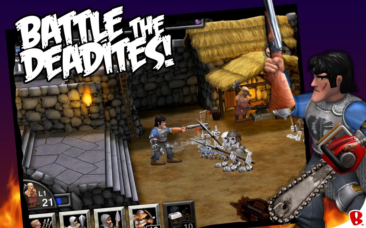 [New Game] Grab Your Boomstick - Army Of Darkness: Defense ...