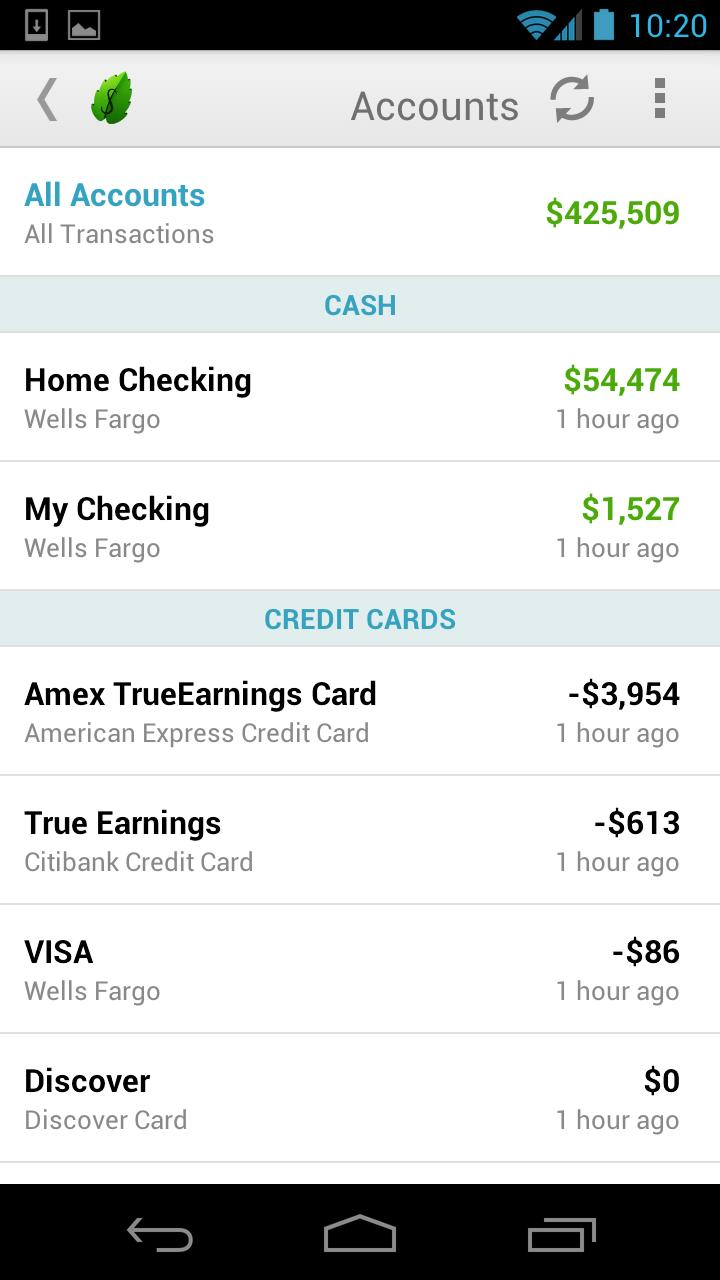 Mint Personal Finance App Updated, Brings Numerous