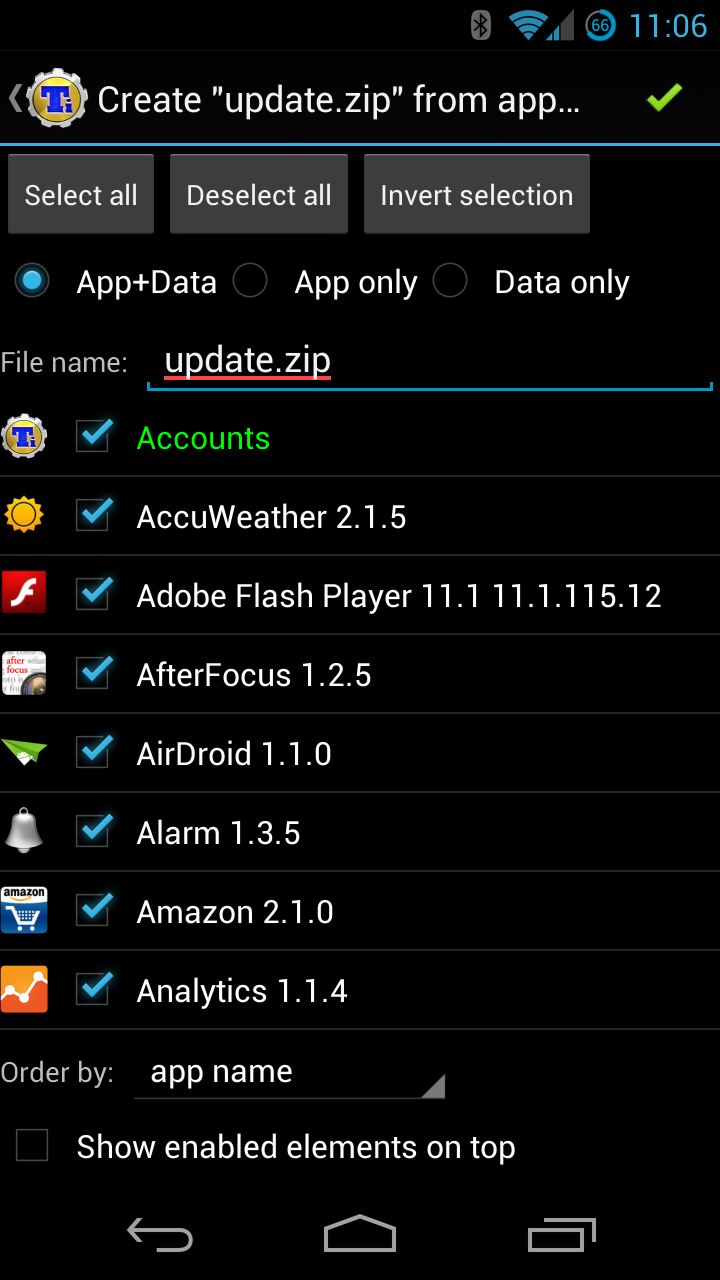New In Titanium Backup Create Flashable Zips Of All Your Apps And Data
