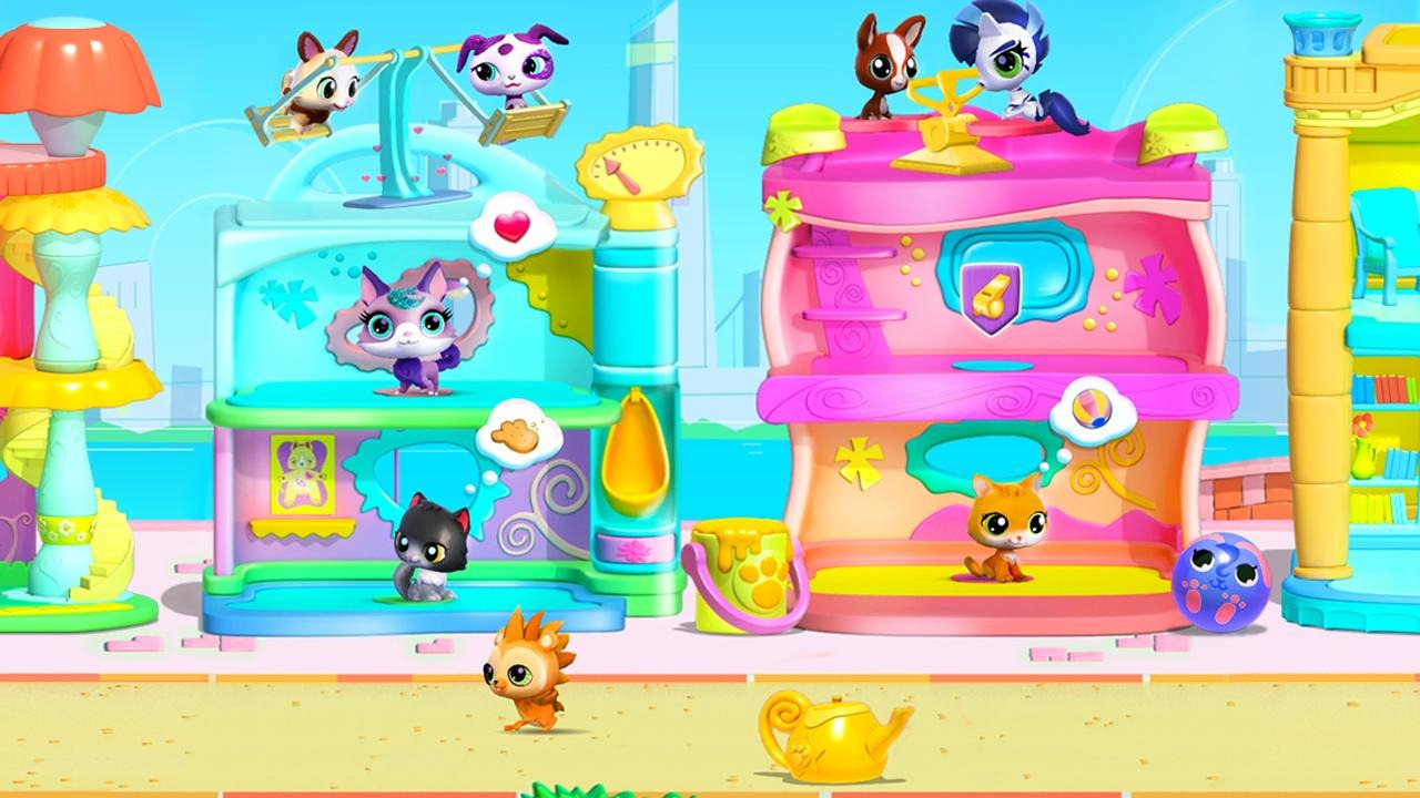 New game gameloft teams up with hasbro to launch littlest pet a s g voltagebd Choice Image