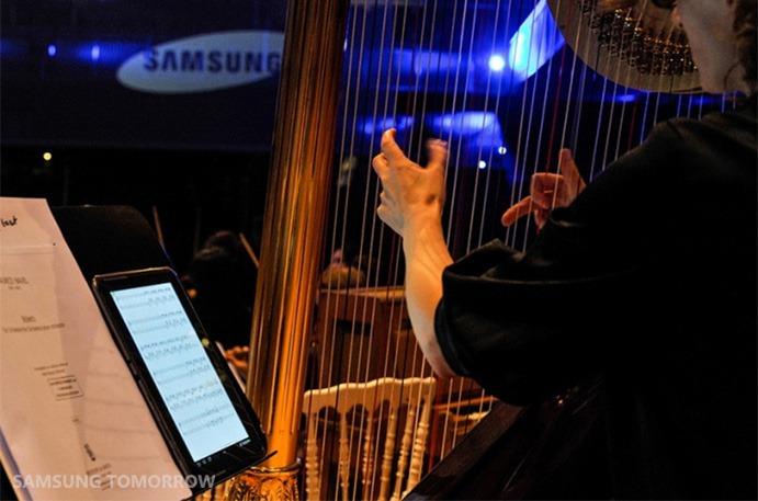 Galaxy Note 10.1 & Orchestra Filarmonica di Bruxelles: quando la tecnologia incontra la musica classica