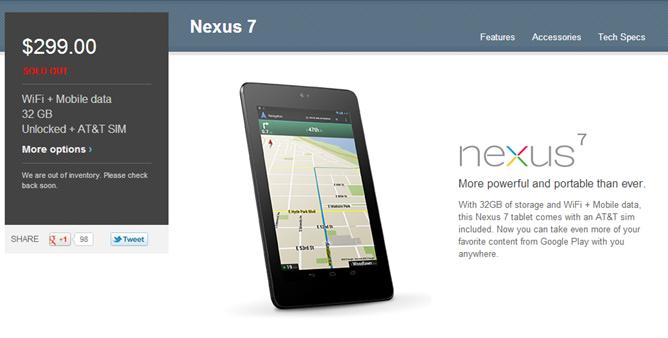 nexus73gsoldout
