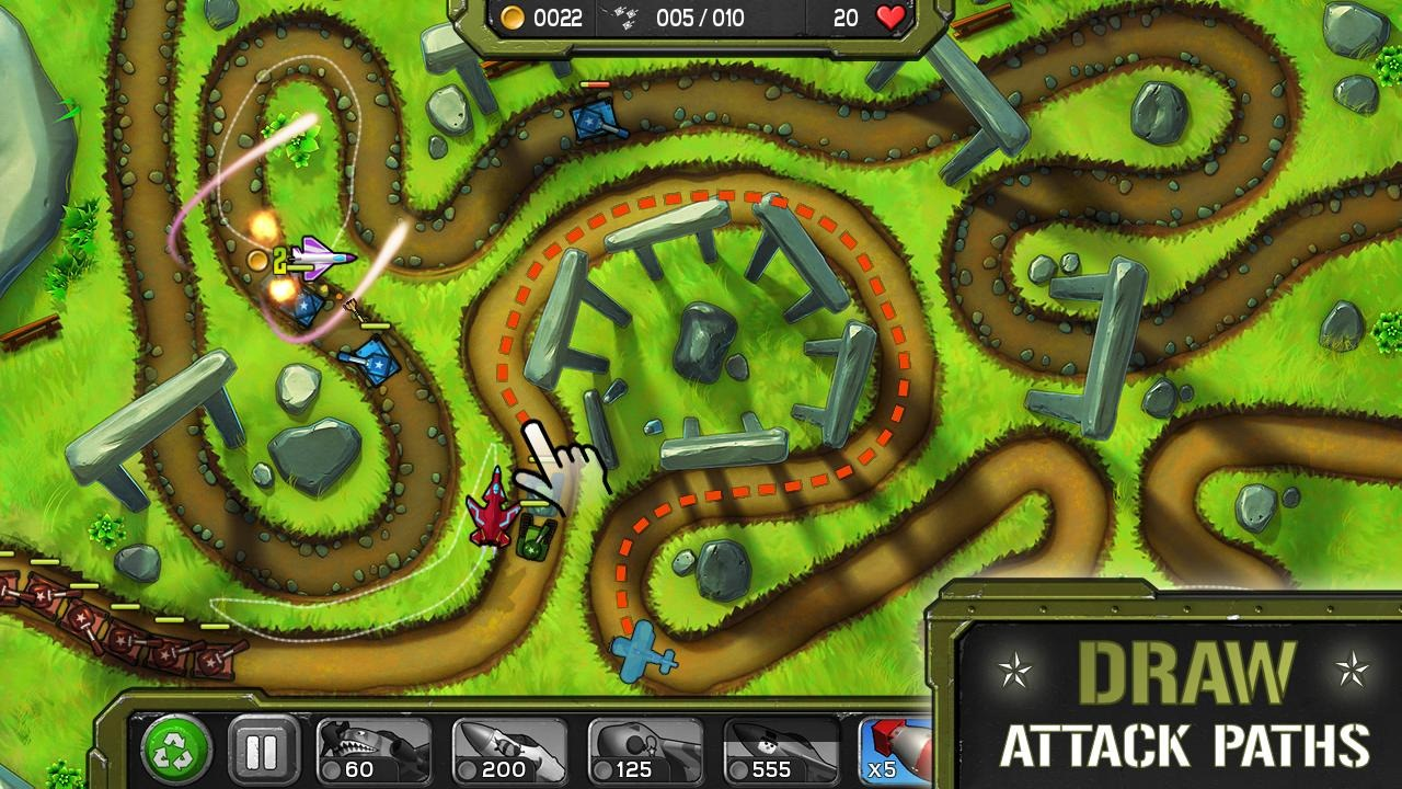 Amazon Publishes Its First Game For Android - Air Patriots, An Air
