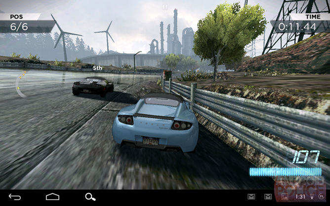 Need for speed most wanted review a cool new car with no for Nfs most wanted android