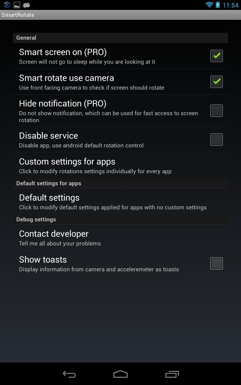 New App] GMD Smart Rotate Copies Samsung's Camera-Based