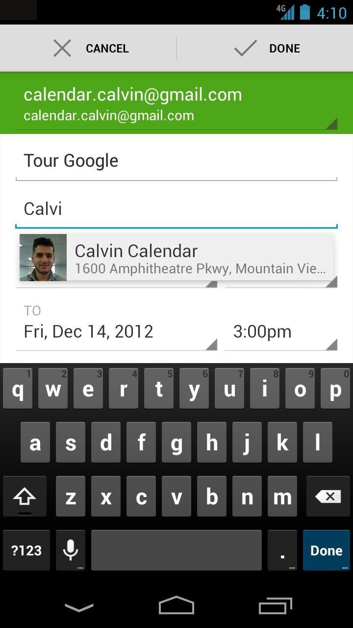 Google Calendar App Updated - New Notification Actions