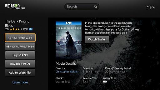 vizio tv amazon. on its own merits, the amazon instant video app looks pretty good: quick browsing through amazon\u0027s library, hd playback, support for free prime vizio tv f
