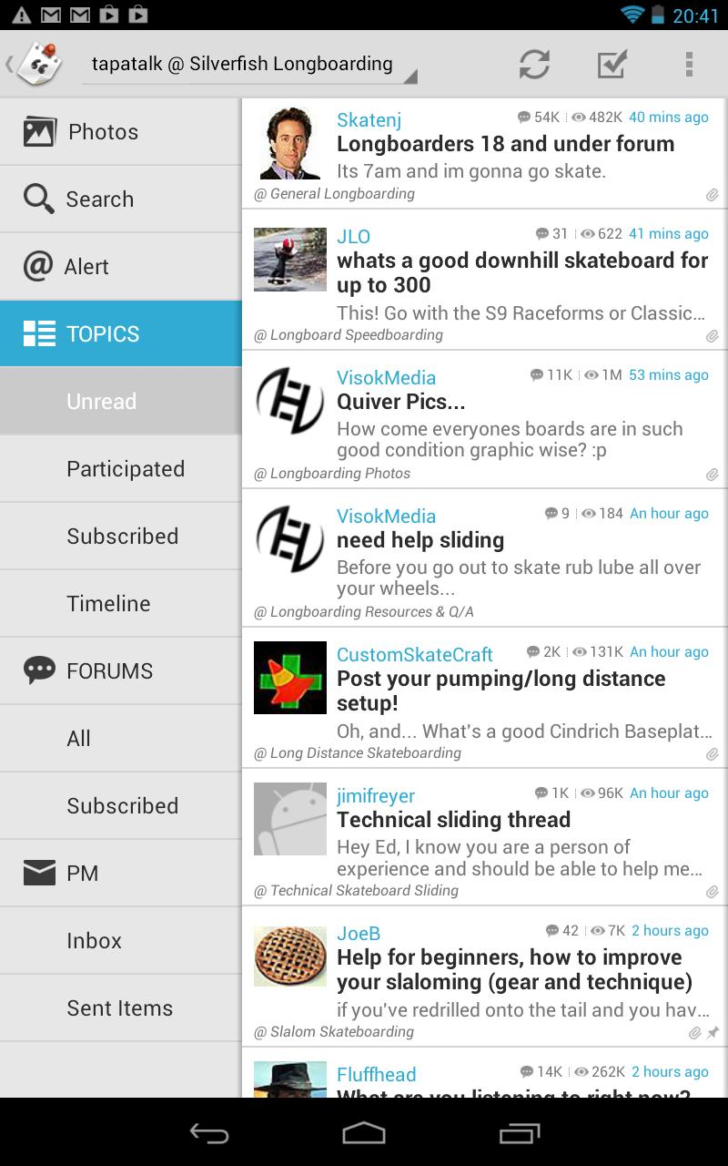 Tapatalk HD Leaves Beta, Is On One-Day Only Sale For $0 99 In The