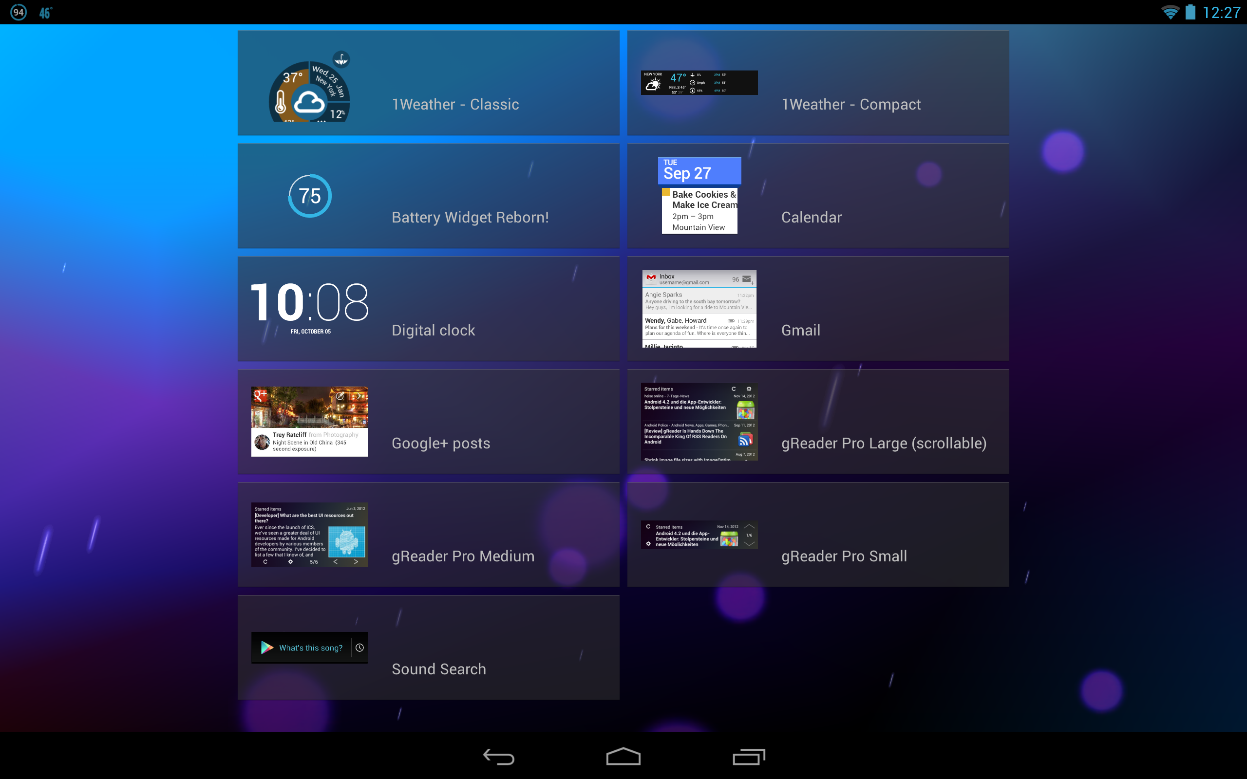 OneLouder Apps' 1Weather Hits v2, Brings New UI, Tablet Support