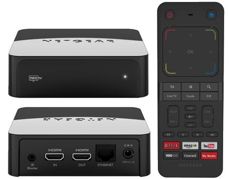 CES 2013] NETGEAR Announces NeoTV PRIME – A Google TV Set