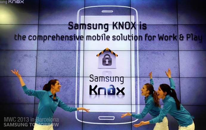 [MWC 2013] Samsung Unveils KNOX, A Secure Enterprise Solution For Workplaces With A BYOD Policy
