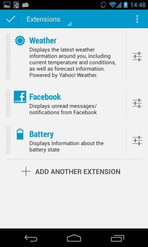New App] DashClock Facebook Extension Makes Your Clock More Social