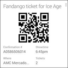 fandango ticket