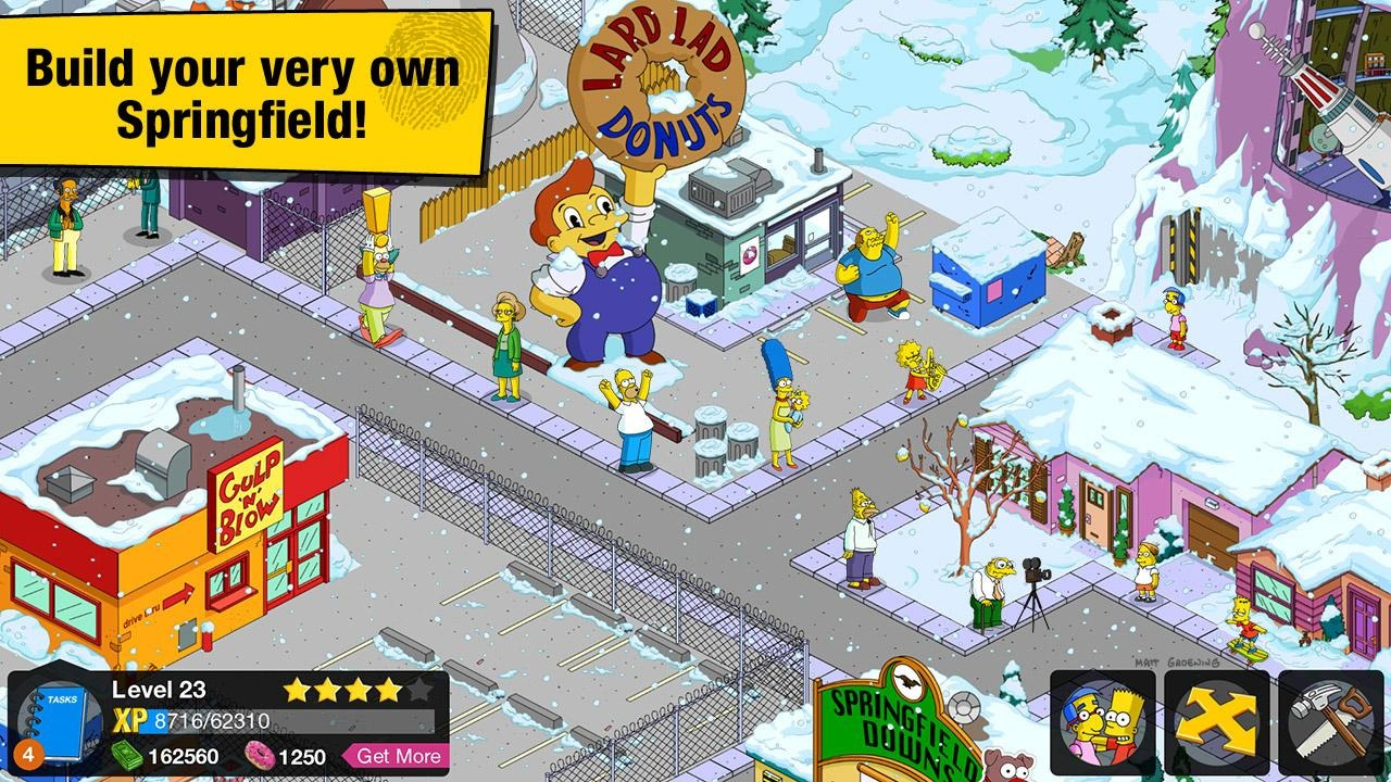New Game] EA Releases The Simpsons: Tapped Out, AKA Sim City