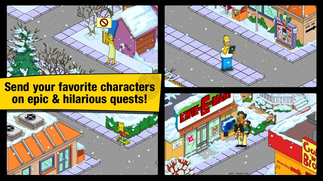 New Game Ea Releases The Simpsons Tapped Out Aka Sim City Theus Pie Face Update It Looks Like Android Users All Over World Are Being Denied Access To At Present If Youve Managed Download Please Drop Us A