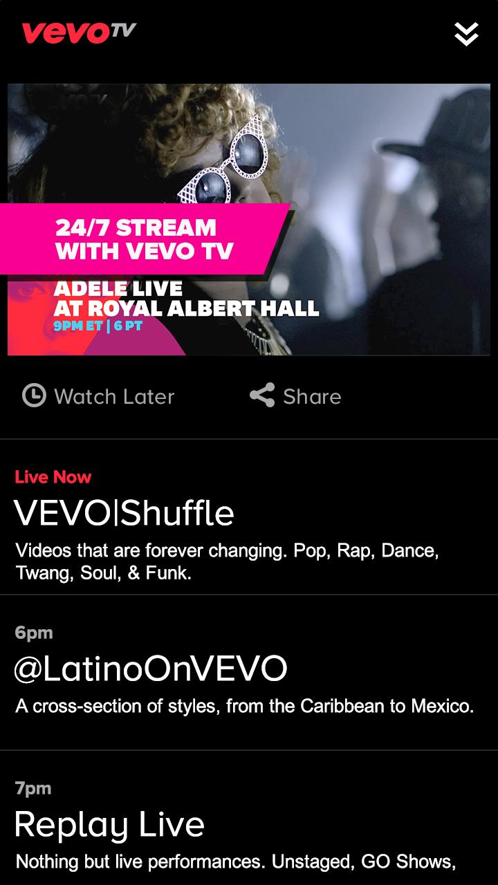 VEVO Announces VEVO TV, An Always-On Streaming Music Video