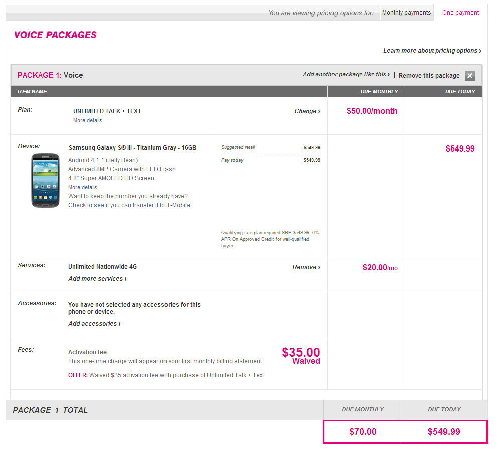 T-Mobile's New Contract-Free Plans Go Live, Unlimited