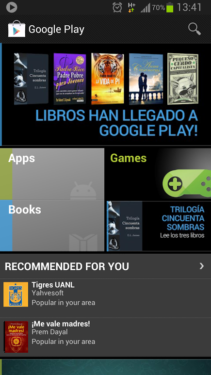 updated google play books now live in mexico google