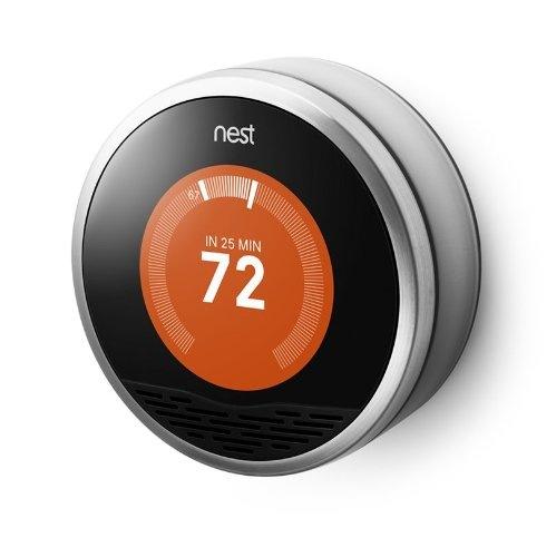 Deal alert 1st gen nest learning thermostat on sale for today on amazon 45 off - Nest learning thermostat ...