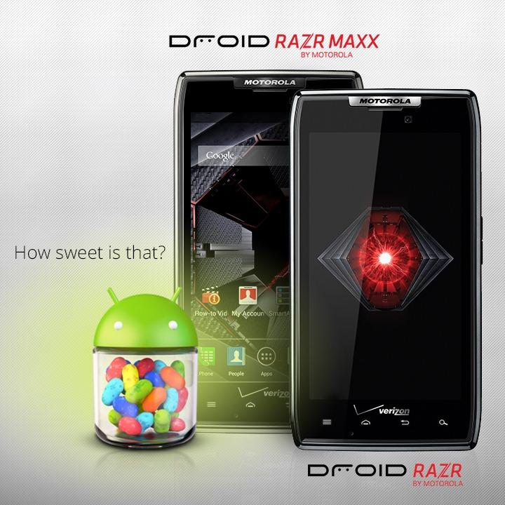 motorola officially announces android 4 1 jelly bean update for rh androidpolice com Motorola Droid RAZR Maxx HD Droid RAZR by Motorola