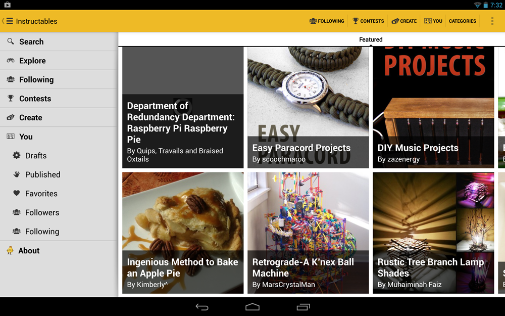 New App Autodesk Brings Instructables To Android With Over 100000