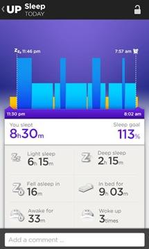 UP-sleep